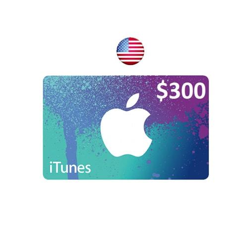 Apple ITunes $300 Gift Card