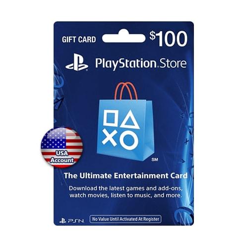 Sony PlayStation Network Card $100