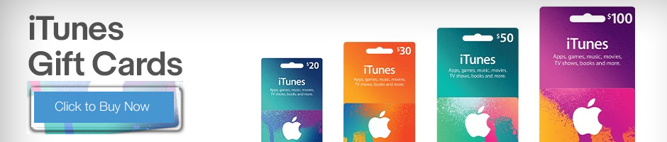 iTunes Gift Cards - Code Delivered Instantly by Email