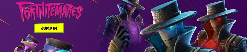 Fortnitemares returns with a vengeance! The Storm King has awakened. Squad up and face him in the new LTM. Want more? Play Gun Fright, the new community made game and earn free rewards by completing challenges - Play for free now, Recharge your gaming wallet to purchase Fortnite v-bucks