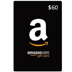 Amazon Gift Card $60 (Offers)