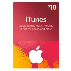 Apple iTunes $10 Gift Card - USA (iTunes Gift Cards)