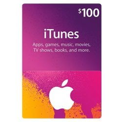 Apple iTunes $100 Gift Card - USA ()