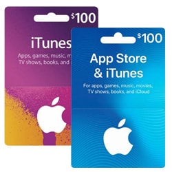Apple iTunes $100x2 Gift Card - USA (iTunes Gift Cards)