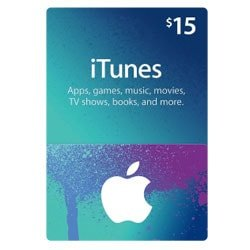 Apple iTunes $15 Gift Card - USA (iTunes Gift Cards)