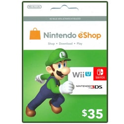 Nintendo eShop Gift Card $35 (Offers)