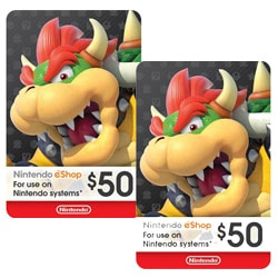 Nintendo eShop Gift Card $50x2 (Best Offers)