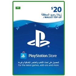 Sony PlayStation Network Card $20 - Saudi ()