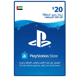 Sony PlayStation Network Card $20 - UAE ()