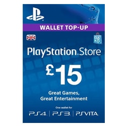 Sony PlayStation Network Card £15 - UK (PSN Cards - UK)