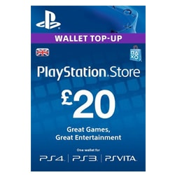 Sony PlayStation Network Card £20 - UK (PSN Cards - UK)