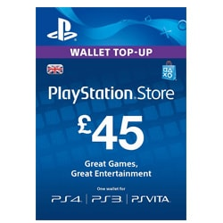 Sony PlayStation Network Card £45 - UK ()