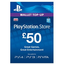 Sony PlayStation Network Card £50 - UK ()