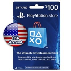 Sony PlayStation Network Card $100 - USA ()