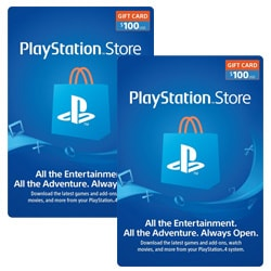 Sony PlayStation Network Card $100x2 - USA (PSN Cards - USA)