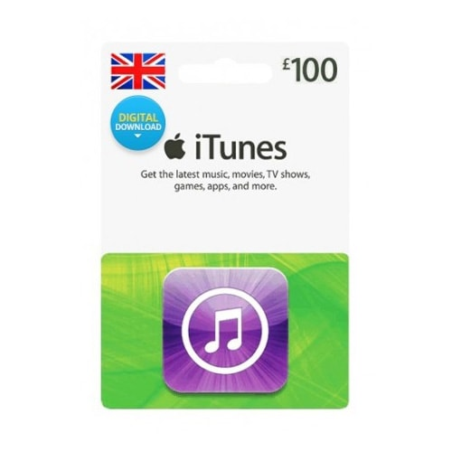 Apple iTunes £100 Gift Card - UK