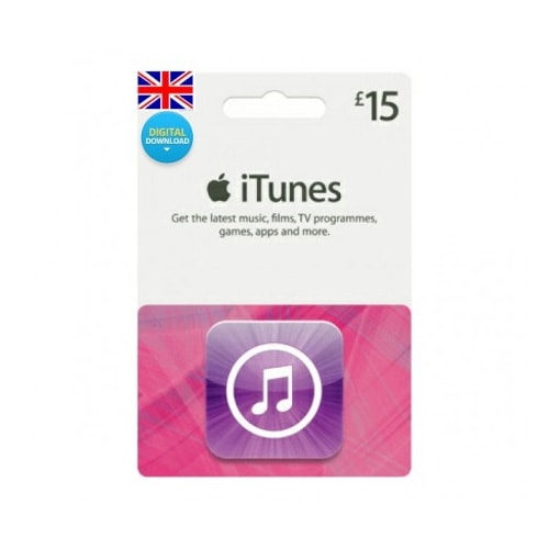Apple iTunes £15 Gift Card - UK