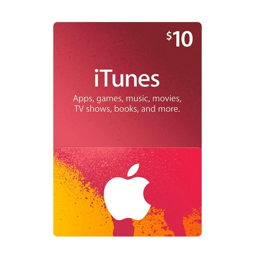Apple iTunes $10 Gift Card - USA