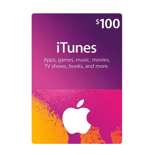 Apple iTunes $100 Gift Card - USA