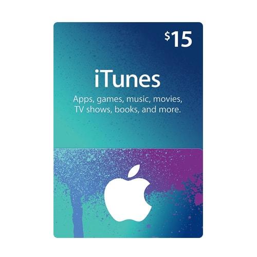Apple ITunes $15 Gift Card