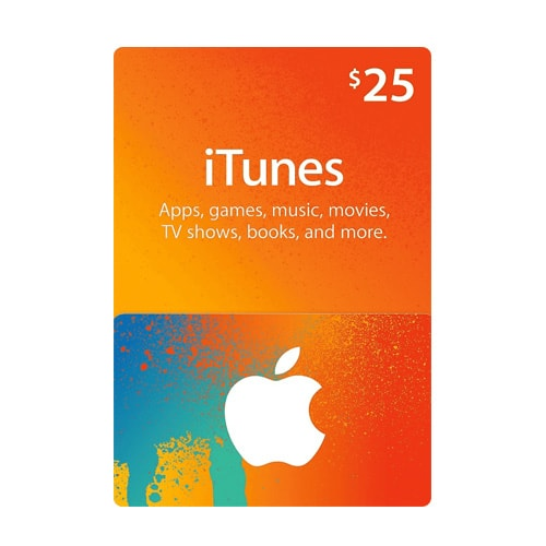 Apple iTunes $25 Gift Card - USA