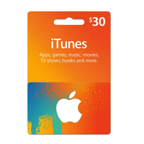 Email itunes gift card