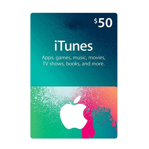 Apple iTunes $50 Gift Card - USA