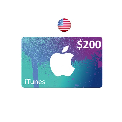 Apple iTunes $200 Gift Card - USA