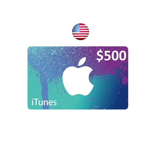 Apple iTunes $500 Gift Card - USA