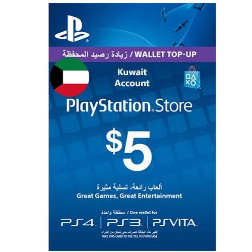 Sony PlayStation Network Card $5