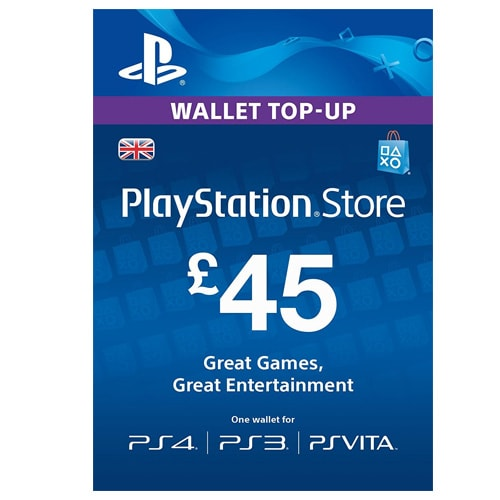 Sony PlayStation Network Card £45 - UK