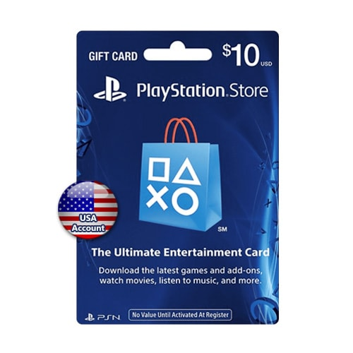 Sony PlayStation Network Card $10 - USA