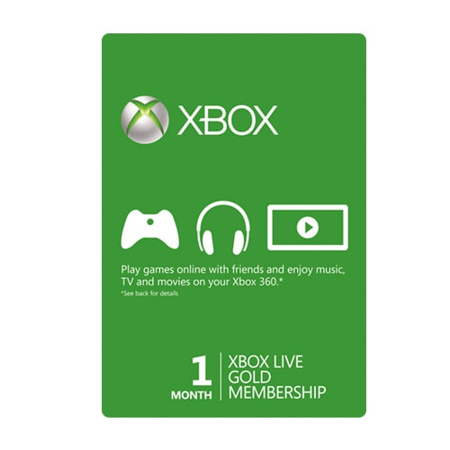 Xbox Live Card 1 Month - USA